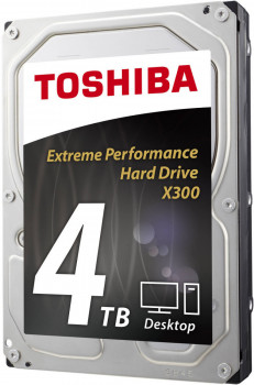 "Жорсткий диск Toshiba High-Performance X300 4TB 7200rpm 128MB HDWE140UZSVA 3.5"" SATA III"