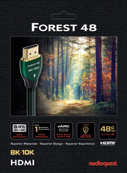 Кабель AudioQuest Forest HDMI 2.1 48G 0.6 м (HDM48FOR060)