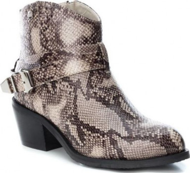 Ботильйони XTI PU Ladies Ankle Boots 49485 Сірі