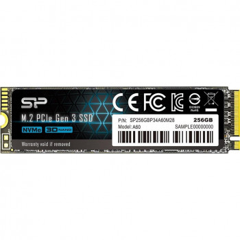 Silicon Power P34A60 256GB M.2 2280 PCIe 3.0 x4 (SP256GBP34A60M28)