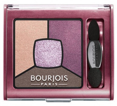 Тени для век Bourjois Smoky Stories квадро №15 brilliant prunette 3.2 г (3614224885120)