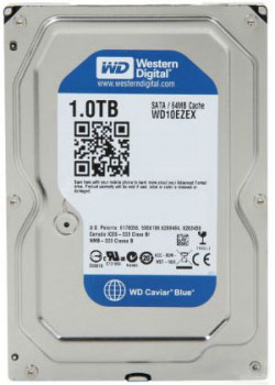 "Жорсткий диск 3.5"" 1Tb Western Digital Blue, SATA3, 64Mb, 7200 rpm (WD10EZEX)"