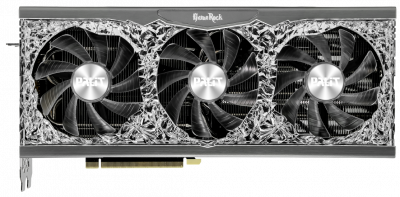 Palit PCI-Ex GeForce RTX 3070 GameRock OC 8GB GDDR6 (256bit) (1500/14000) (3 x DisplayPort, HDMI) (NE63070H19P2-1040G)