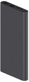 УМБ Xiaomi Mi Power Bank 3 10000 mAh 2xUSB 18W Fast Charge PLM13ZM Black (VXN4274GL)