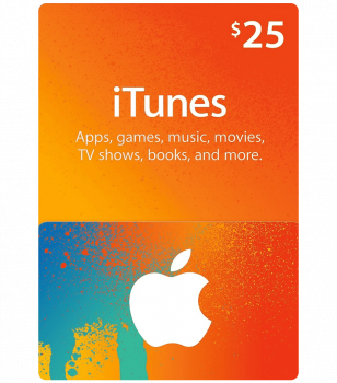 iTunes Gift Card 25$