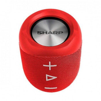 Портативна колонка Sharp Compact Wireless Speaker Red
