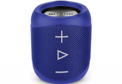 Портативна колонка Sharp Compact Wireless Speaker Blue