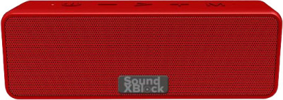 Акустична система 2E SoundXBlock TWS, MP3, Wireless, Waterproof Red (2E-BSSXBWRD)