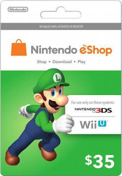 Nintendo eShop Card $35 (USA)