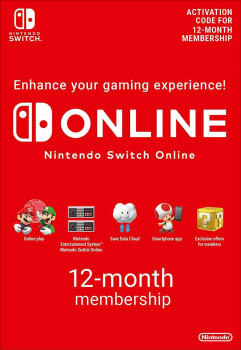 Nintendo Switch Online Gift Card 12 місяців США / US / USA- регіон