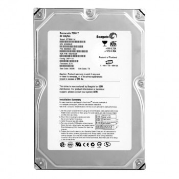 HDD Seagate SEAGATE BARRACUDA 80GB 7.2 K IDE 3.5 INCH HDD (ST380215AS) Refurbished