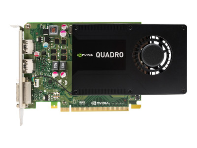 Видеокарта HPE HPE PCA nVIDIA Quadro K2000 2GB PCIe (766882-001) Refurbished