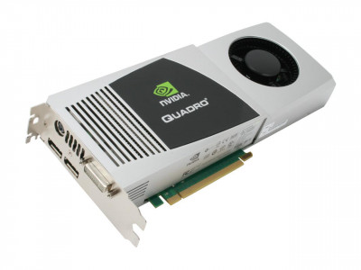 Видеокарта HPE HPE nVIDIA QuadRO FX 4800 GRAPHICS Card (030-2379-001) Refurbished