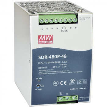 Блок питания Mean well Moxa Din-Rail 24Vdc Supply -25~60Gr (70Gr@80%) (SDR-480P-24) Refurbished