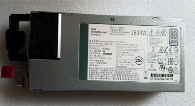 Блок живлення HP HPE 1600W FLEX 80 PLUS PLATINUM POWER SUPPLY (830262-001) Refurbished