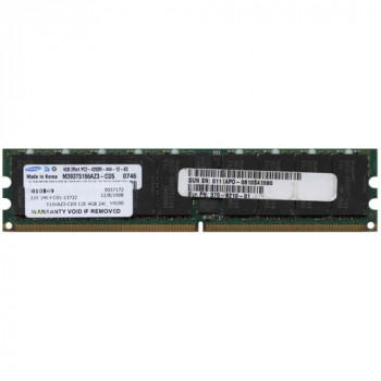 Оперативна пам'ять Samsung SAMSUNG 4GB 2RX4 PC2-4200R MEMORY DIMM (M393T5166AZ3-CD5) Refurbished
