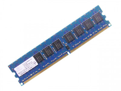 Оперативная память Nanya NANYA 1GB (1*1GB) 2RX8 PC2-4200E DDR2-533MHZ DIMM (NT1GT72U8PA0BY-37B) Refurbished