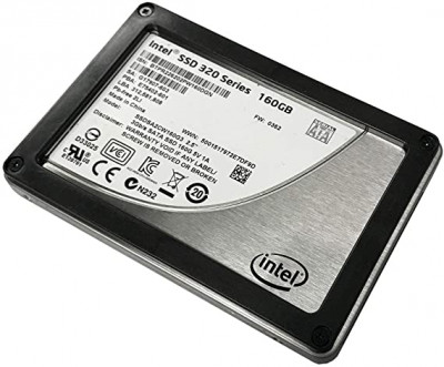 SSD Intel INTEL 320SERIES 160GB 3G 2.5INCH MLC SATA SSD (G17907-603) Refurbished