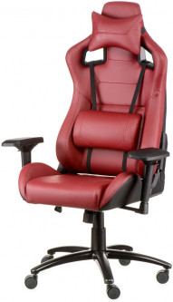 Кресло Special4You ExtremeRace Black/Deep Red (E2905)