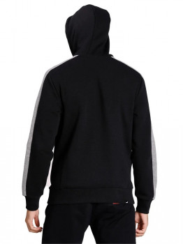 Толстовка Puma Contrast Fz Hoody Fl 85289201 Cotton Black
