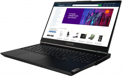 Ноутбук Lenovo Legion 5 15ARH05 (82B500KSRA) Phantom Black