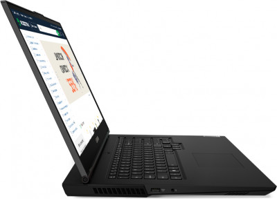 Ноутбук Lenovo Legion 5 17IMH05 (82B3006PRA) Phantom Black