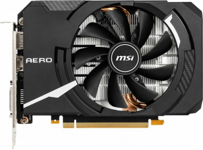 Видеокарта MSI GTX 1660Ti 6Gb Aero ITX OC (GeForce GTX 1660 Ti AERO ITX 6G OC), factory refurbished