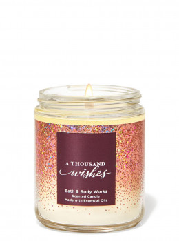 Свічка ароматизована Bath and Body Works A Thousand Wishes Scented Candle 198 г