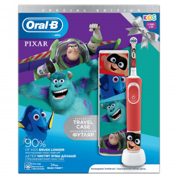 Електрична зубна щітка ORAL-B BRAUN Stage Power/D100 Pixar Gift Limited Edition (4210201314639)