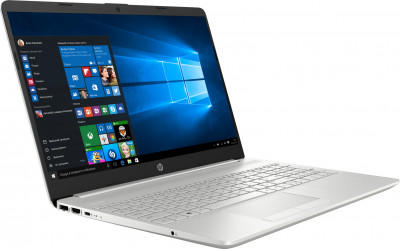 Ноутбук HP Laptop 15-dw1009ur (9EU57EA) Natural Silver