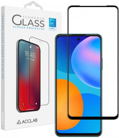 Защитное стекло ACCLAB Full Glue для Huawei P Smart 2021 Black (1283126508325)