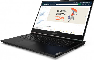 Ноутбук Lenovo Legion 5 17ARH05H (82GN002MRA) Phantom Black