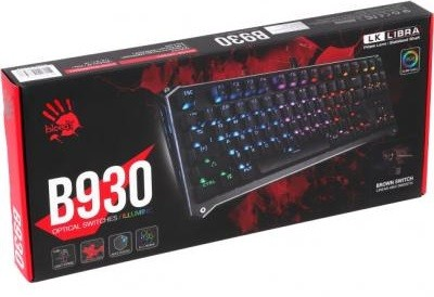 Клавиатура A4tech B930 RGB Bloody Black USB (B930 RGB Bloody (Black))