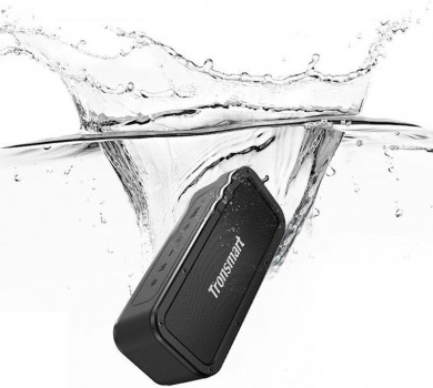 Портативна акустика Tronsmart Element Force Waterproof Portable Bluetooth Speaker Black