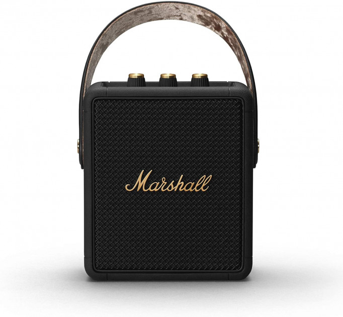 Колонка Marshall Portable Loudspeaker Stockwell II Black and brass - зображення 1