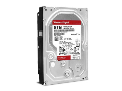Жесткий диск Western Digital SATA 8TB 6GB/S 256MB RED PRO WD8003FFBX WDC WD