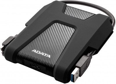 Жорсткий диск ADATA DashDrive Durable HD680 2 TB AHD680-2TU31-CBK 2.5 USB 3.2 External Black