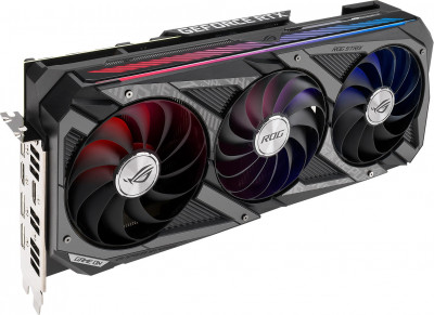 Видеокарта Asus GeForce RTX 3070 ROG Strix OC 8Gb
