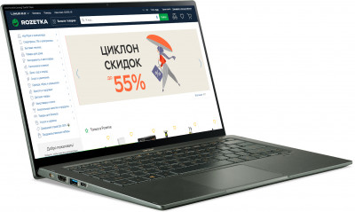 Ноутбук Acer Swift 5 SF514-55GT-54FZ (NX.HXAEU.004) Mist Green
