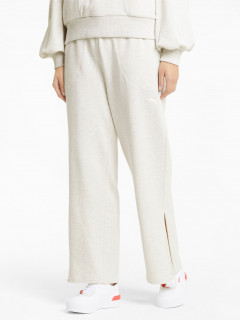 Спортивні штани Puma HER Wide Pants 58596802 M White Heather (4063697248489)