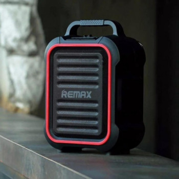 Портативная Bluetooth колонка Remax RB-X3 Song K outdoor Black-Red