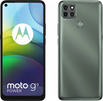 Мобільний телефон Motorola G9 Power 4/128 Metallic Sage (PALR0020RS)