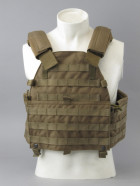 Бронежилет Pantac Molle 6094 Plate Carrier VT-C094 With Commerbund, Cordura Medium, Хакі (Khaki) - зображення 7