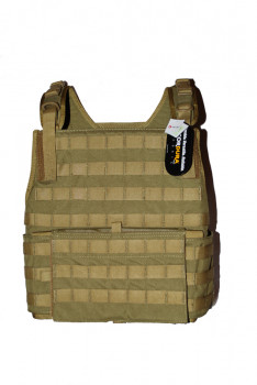Бронежилет Pantac MBAV Strike Plate Carrier VT-C601, Cordura Medium, Хакі (Khaki)