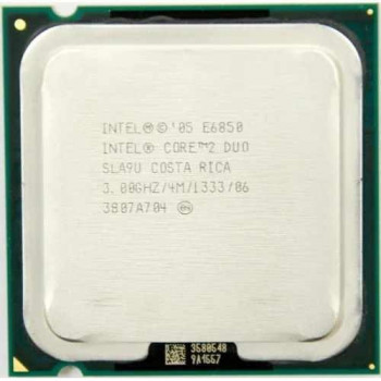 Б/У, Процессор, Intel Core 2 Duo e6850, 2 ядра, 3.0 GHz