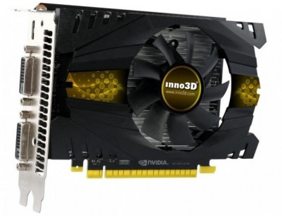 Відеокарта Inno3D GTX750 1Gb DDR5 Refurbished