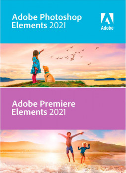 Adobe Photoshop Elements і Premiere Elements 2021 Multiple Platforms International English AOO License TLP 1 ліцензія 1 ПК (65313026AD01A00)