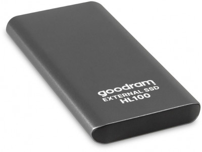 Goodram HL100 1TB USB 3.2 Type-C TLC Black (SSDPR-HL100-01T) External
