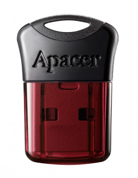 Флеш-накопичувач USB3.2 64GB Apacer AH157 Black/Red (AP64GAH157R-1)