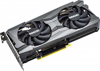 INNO3D PCI-Ex GeForce RTX 3060 Twin X2 OC 12GB GDDR6 (192bit) (1792/15000) (3 x DisplayPort, HDMI) (N30602-12D6X-11902120)
